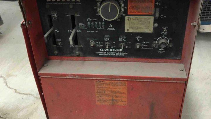 Canox C-250E-HF  TIG Welder  $1500