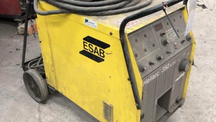 ESAB Heliarc 352 AC/DC Welder   $500