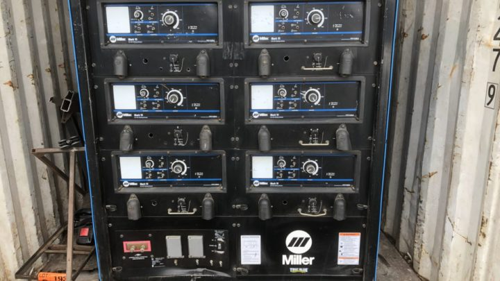 Miller Mark VI 6 pack Welder   $6,000