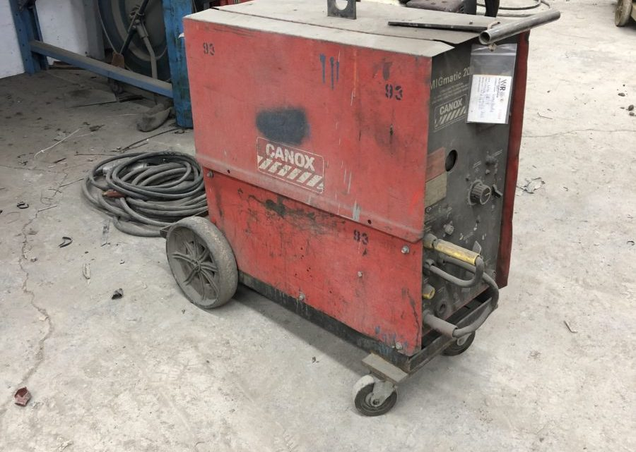 Canox Migmatic 200 Welder   $1200